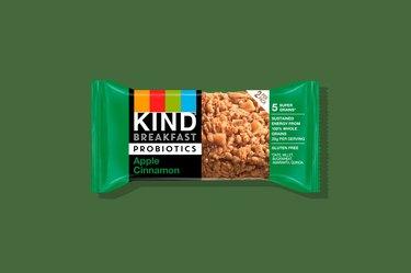 KIND Apple Cinnamon Probiotic Breakfast Bar