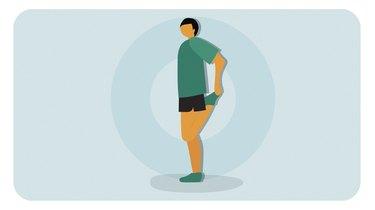 Move 2: Standing Quad Pull
