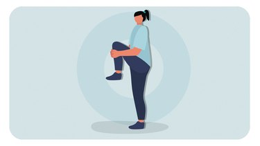 Move 1: Standing Knee Pull