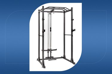 Papababe Power Cage với Lat Pulldown