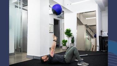 Medicine-Ball Chest Pass
