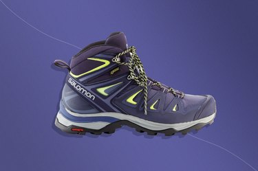 Salomon X Ultra 3 Mid GTX Hiking Boots, one of the best shoes for plantar fasciitis