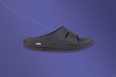OOFOS OOahh Slide Sandal, one of the best shoes for plantar fasciitis