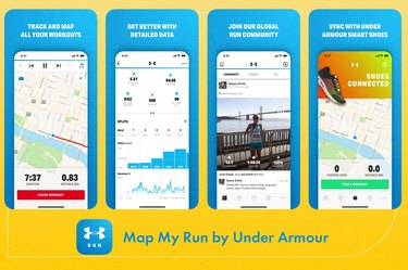 Lập bản đồ My Run by Under Armour