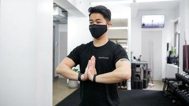 Move 4: Prayer Stretch