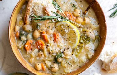 White Bean and Lemon