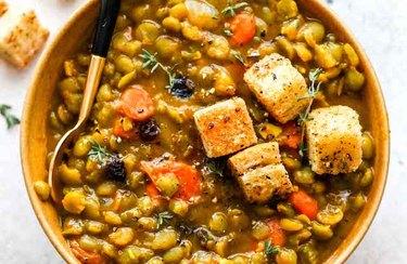 Moroccan Split Pea Soup