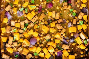 Butternut Squash Sheet Pan Meal