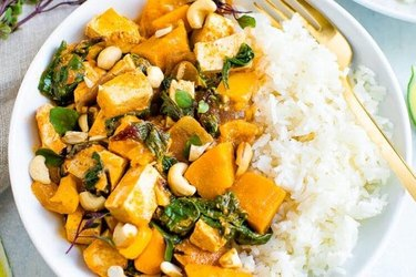 Tofu Pumpkin Curry