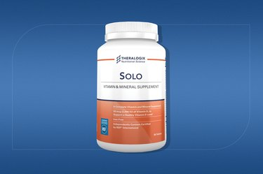 Theralogix Solo Multivitamin and Mineral Supplement for men
