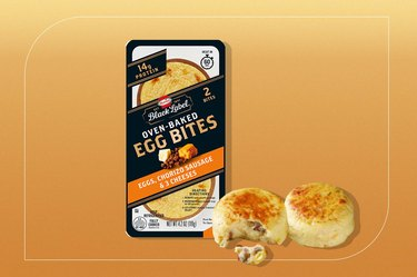 Hormel Black Label Oven-Baked Egg Bites: Eggs, Chorizo Sausage & 3 Cheeses
