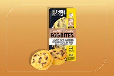 Three Bridges Mushroom & Asiago Egg Bites
