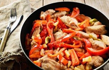 Baja Chicken and Pepper Pasta