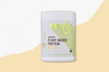 Amazon Brand - Revly Organic Plant-based Protein Powder,