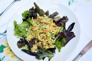 Nutty Zucchini Millet Salad