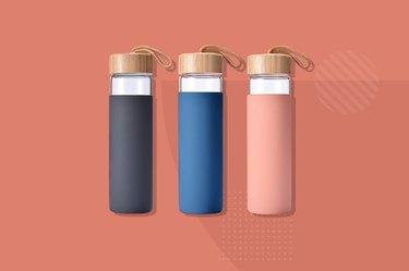 Yomious Borosilicate Glass Water Bottle