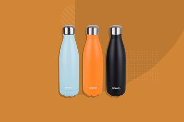SUNWILL Insulated Stainless Steel Water Bottle