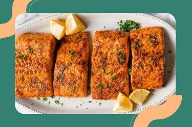 Air Fryer Fish Salmon