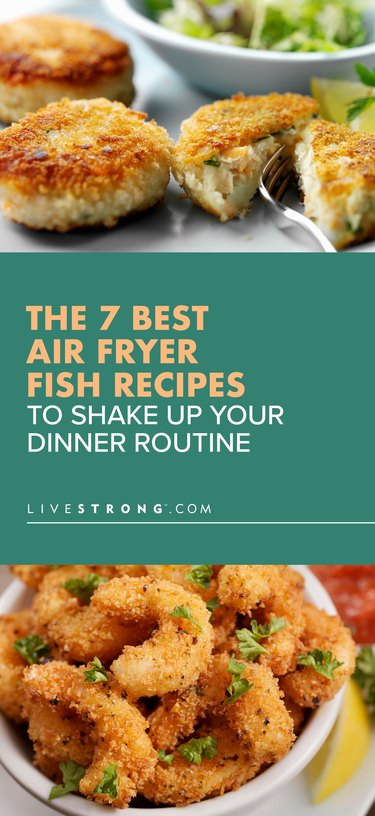 pin for the 7 best air fryer fish recipes