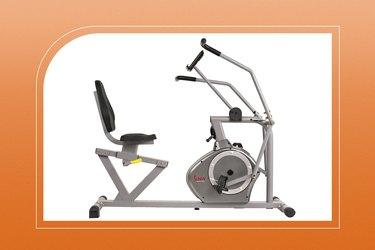 unny Health & Fitness Magnetic Recumbent Exercise Bike