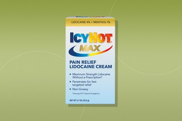 Icy Hot Max Strength Pain Relief Cream With Lidocaine