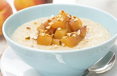 Peaches and Overnight Oats Overnight Oat Recipes