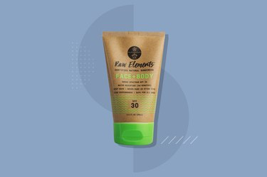 Raw Elements Face + Body Tube SPF 30