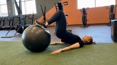 Move 4: Stability Ball Leg Curl