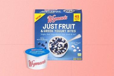 Wyman's Just Fruit & Greek Yogurt Bites, Wild Blueberries