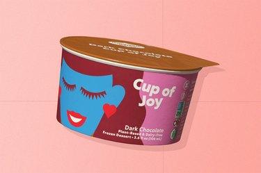 Coconut Bliss Cups of Joy in dark chocolate