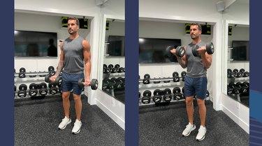 Move 2: Biceps Curl