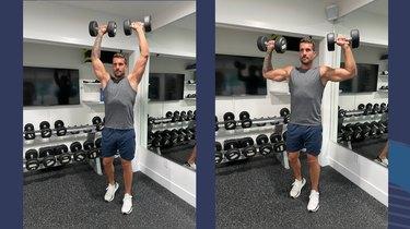 Move 1: Shoulder Press