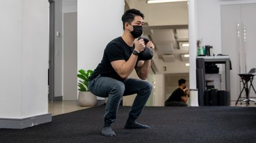 Move 1: Weighted Goblet Squat