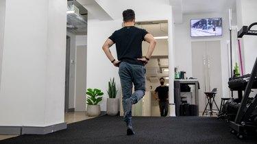 Move 4: Single-Leg Heel Raise