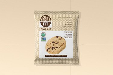 BHU Chocolate Chip Vegan Protein Cookie