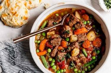 Instant Pot Vegetable Beef Soup Stew Beef Recipes Not Stew