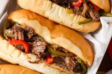 Slow Cooker Cheesesteak Recipe Stew Meat Recipes Not Stew