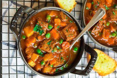 Crockpot Vegetable Beef Soup Stew Meat Recipes Not Stew