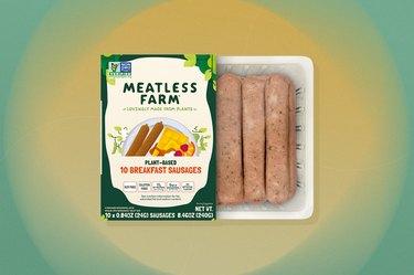 Meatless Farm Plant-Based Breakfast Sausage