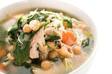 Instant Pot Lebanese Chicken Soup
