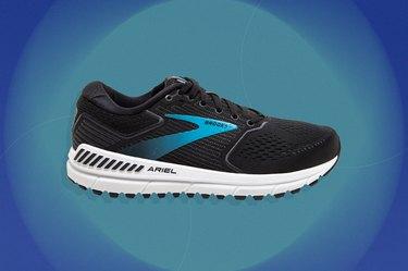Brooks Ariel shoe for flat feet and overpronation