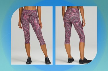"""Lululemon Fast and Free High-Rise Crop 19"""""""