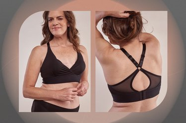 Paige Masectomy Wrap Front Sports Bra