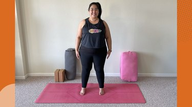 Move 4: Mountain Pose With Wide Stance
