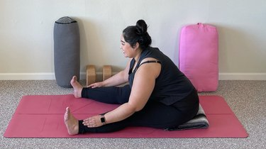 Move 10: Seated Forward Fold With Wide Legs