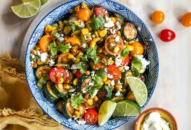 20-Minute Summer Squash and Corn Salad