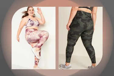 High-Waisted PowerSoft 7/8-Length Plus-Size Leggings