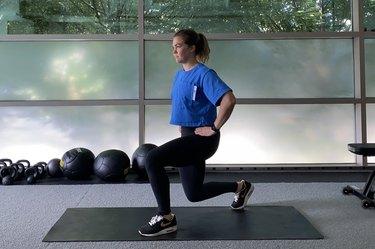 Move 1: Split Stance Squat