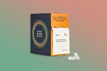 Nurish by Nature Made calcium supplement