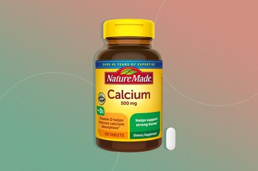 Nature Made Calcium + Vitamin D3 supplement